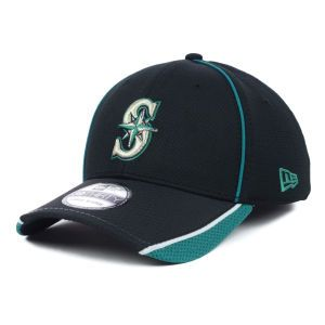 Seattle Mariners New Era MLB Pipe Slide 39THIRTY Cap
