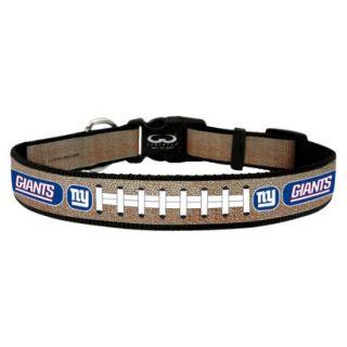 New York Giants Reflective Medium Football Collar