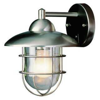 Trans Globe 4371 ST Coach Lantern   Stainless Steel   9W in. Multicolor   4371