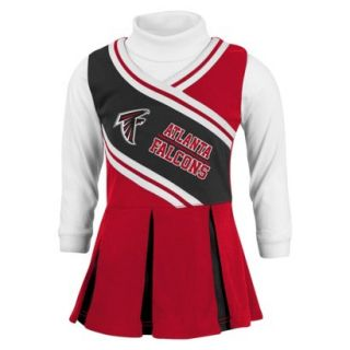 NFL Infant Toddler Cheerleader Set With Bloom 2T Falcons