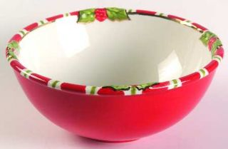 Christopher Radko Letters To Santa Coupe Cereal Bowl, Fine China Dinnerware   Sa