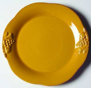 Casafina Madeira Harvest (Honey) Salad Plate, Fine China Dinnerware   Embossed F