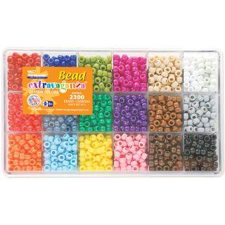 Giant Bead Box Kit 2300 Beads/pkg crayon