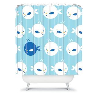 DENY Designs Khristian A Howell Baby Beach Bum 2 Shower Curtain Multicolor