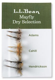 Six Pack Fly Selection, Mayfly Dry Flies