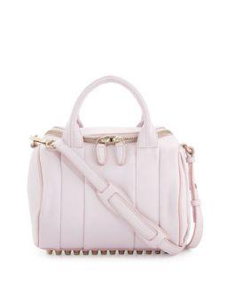 Rockie Small Crossbody Satchel Bag, Gummy Pink   Alexander Wang