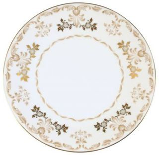 Harmony House China Classique Gold Salad Plate, Fine China Dinnerware   Gold Tri