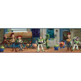 Toy Story Andys Room Wallpaper Border   Multicolored