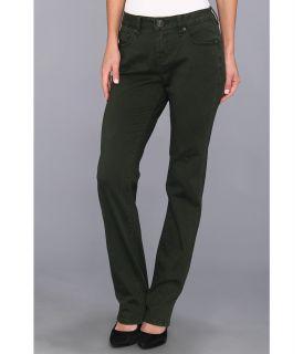Jag Jeans Jackson Mid Straight Heritage Twill Jean Womens Jeans (Black)