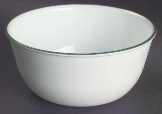Corning Callaway Super Soup/Cereal Bowl, Fine China Dinnerware   Corelle, Green