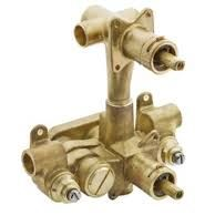 Moen 3330 Moentrol 3Function Built In Transfer Valve, with Integral Check Stops and 1/2 CC Brass