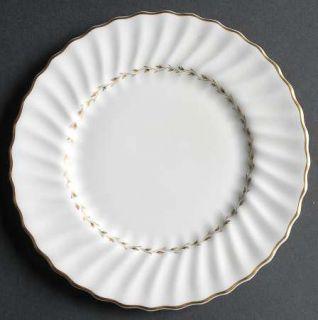 Royal Doulton Adrian Salad Plate, Fine China Dinnerware   Inner Gold Laurel,Embo