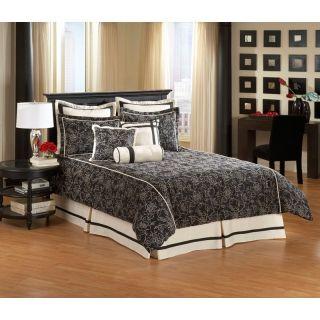American Century Home Fabrics Inc Chelsea Frank Savannah   9 Piece Comforter