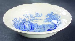 Taylor, Smith & T (TS&T) English Abbey Blue Fruit/Dessert (Sauce) Bowl, Fine Chi