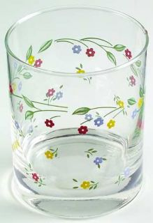 Corning English Meadow 12 Oz Glassware Old Fashioned, Fine China Dinnerware   Sw