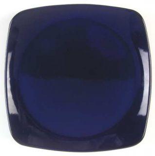 Corning Indigo Blue (Square Shape) Dinner Plate, Fine China Dinnerware   Hearths