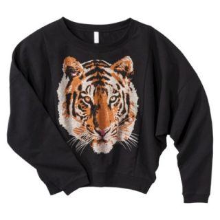 Xhilaration Juniors Daisy Cropped Sweater   Black XL(15 17)