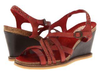 Kickers U Feel Womens Sandals (Red)