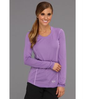 Mountain Hardwear Wicked Lite L/S T Womens Long Sleeve Pullover (Red)