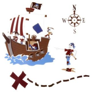 Circo Pirate Wall Decal