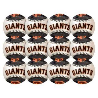 Franklin Sports MLB Giants Metallic Pearl Ball 12pk