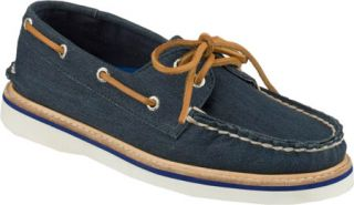 Womens Sperry Top Sider Grayson Canvas   Navy Canvas Casual Shoes