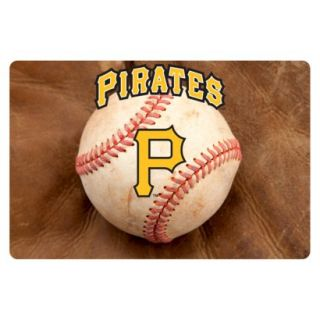 Pittsburg Pirates Baseball Pet Bowl Mat L
