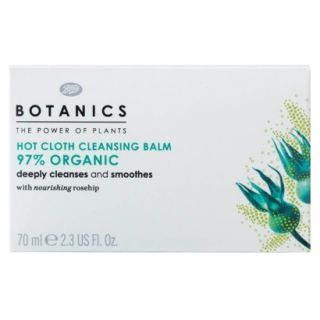 Boots Botanics Organic Hot Cloth Cleansing Balm   2.3 oz