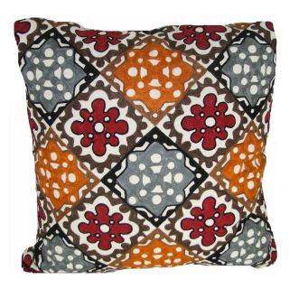 Design Accents Arabic All Over Pillow   Multi Multicolor   NSG36359 20X20