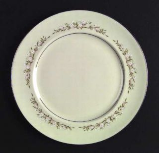 Royal Jackson Bristol Cream Dinner Plate, Fine China Dinnerware   Cream Color