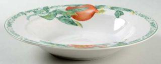 Interiors (PTS) Nature Large Rim Soup Bowl, Fine China Dinnerware   Stoneware,Gr