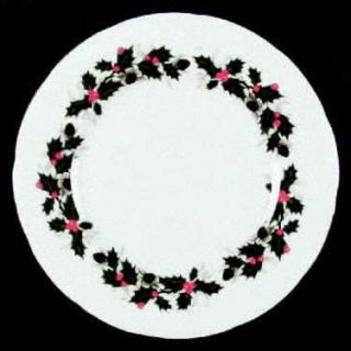 Royal Chelsea Noel Dinner Plate, Fine China Dinnerware   Gold Trim,5130a