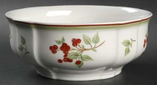 Villeroy & Boch Joy Noel 8 Round Vegetable Bowl, Fine China Dinnerware   Holida