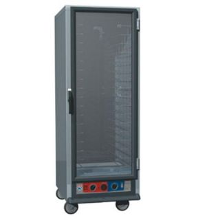 Metro C5 Full Height Heated Proof & Hold Cabinet, Clear Door, Lip Load Slides