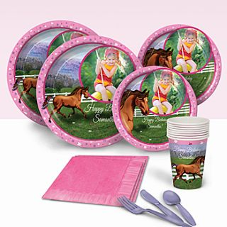 Hooray For Horses Personalized Basic Party Pack