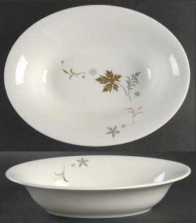 Royal Jackson Enchantment 10 Oval Vegetable Bowl, Fine China Dinnerware   Paris