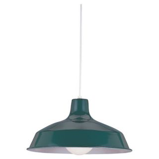 Pendant Single light Emerald Green Finish