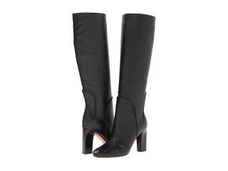 Diane Von Furstenberg Genna Womens Dress Pull on Boots (Black)