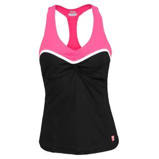 Fila Women`s Baseline Tennis Cami Tank Small Black