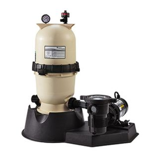 Pentair PNEC0060OE1160 EasyClean Aboveground D.E. Filter System, 1 HP 15 Sq. Ft Filter Area