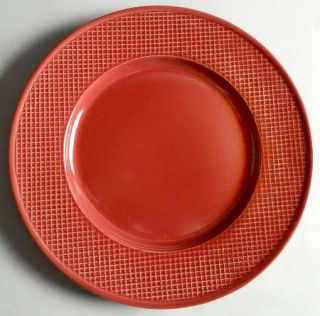 Jaclyn Smith Diamond Red Dinner Plate, Fine China Dinnerware   Today,Red,Embosse