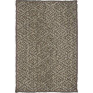 Diamonds Natural Sisal Wool Rug (3 X 5)
