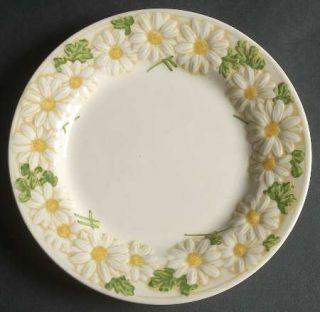 Metlox   Poppytrail   Vernon Sculptured Daisy Salad Plate, Fine China Dinnerware