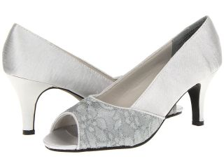 Annie Savory Heel Womens Sling Back Shoes (Gray)