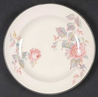 Limoges American Rose Marie Bread & Butter Plate, Fine China Dinnerware   Roses,