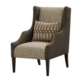 A R T Furniture Inc A.R.T. Furniture Harper Wing Chair   Mineral Multicolor