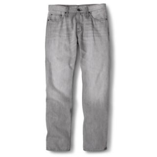 Mossimo Supply Co. Mens Slim Straight Fit Jeans   Gray 38X32