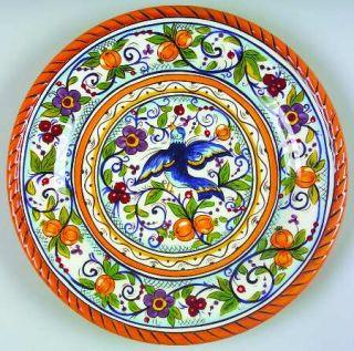 Tabletops Unlimited Villa Paradiso Dinner Plate, Fine China Dinnerware   Farrucc