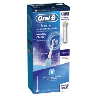 Oral B Professional Care 1000 3D White with Bonus Pro White Brush Head