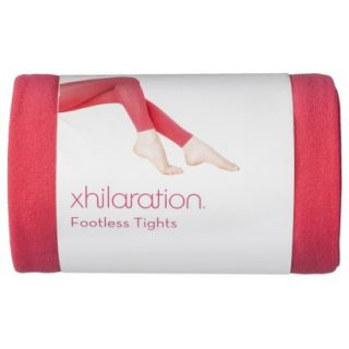Xhilaration Juniors Fashion Tights   Red XL/XXL